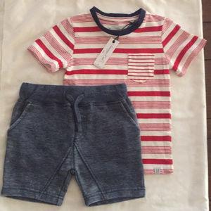 Sovereign Code Set Shorts and Tee Shirt